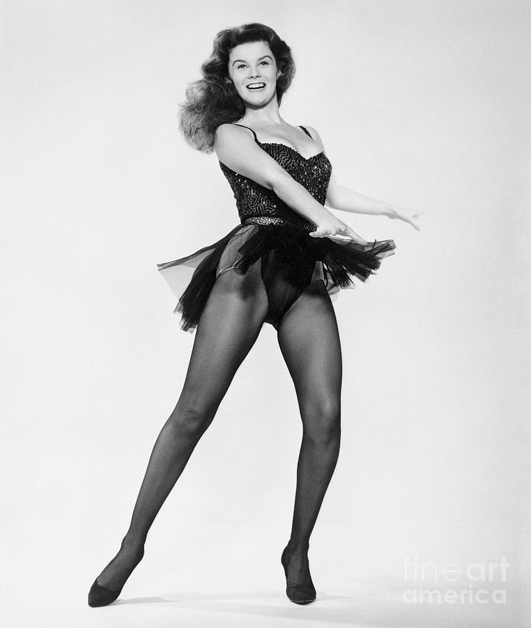 Ann-margret Performing Dance Scene Photograph by Bettmann