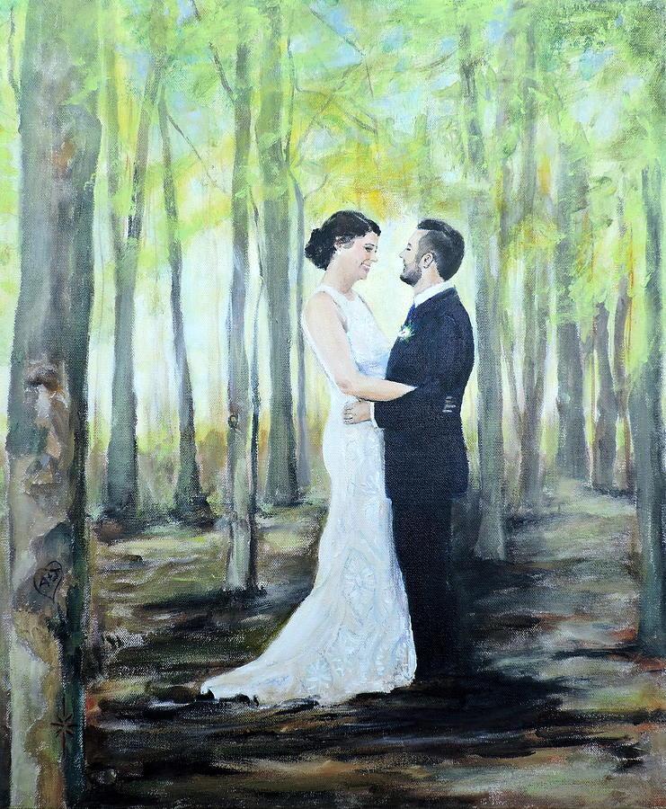 Anna and James by Jodie Marie Anne Richardson Traugott          aka jm-ART