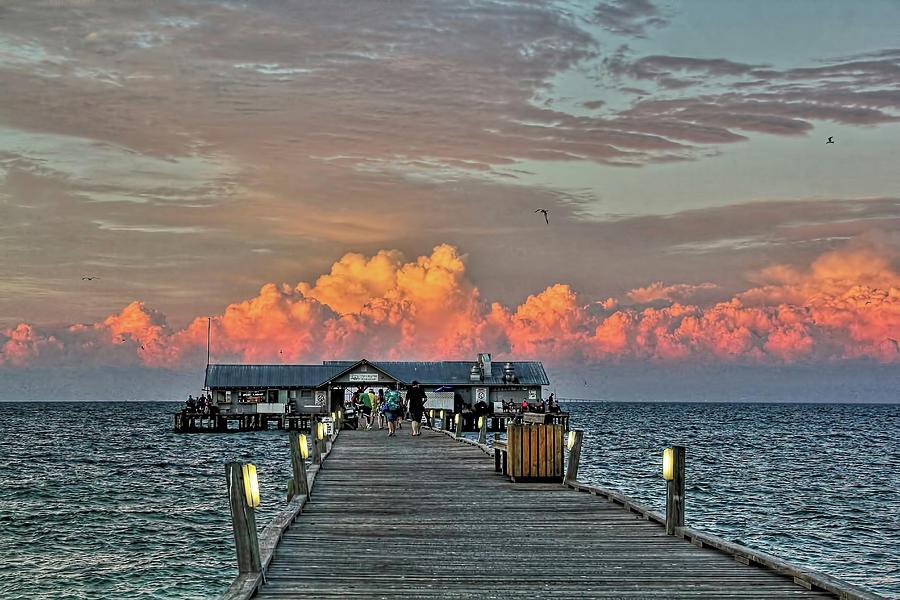 Anna Maria City Pier Photograph - Anna Maria City Pier by HH Photography of Florida