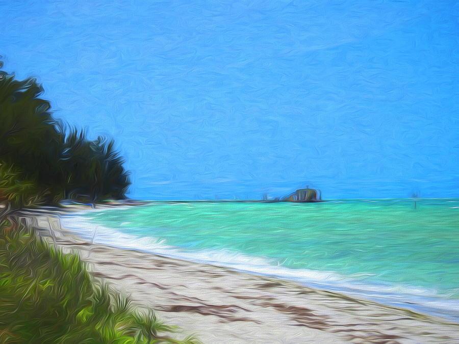 Anna Maria North Shore by Robert Stanhope