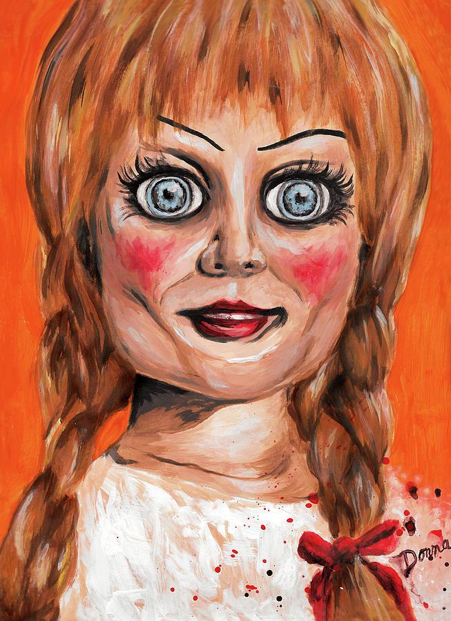 Annabelle Painting - Annabelle  by Donnaistic