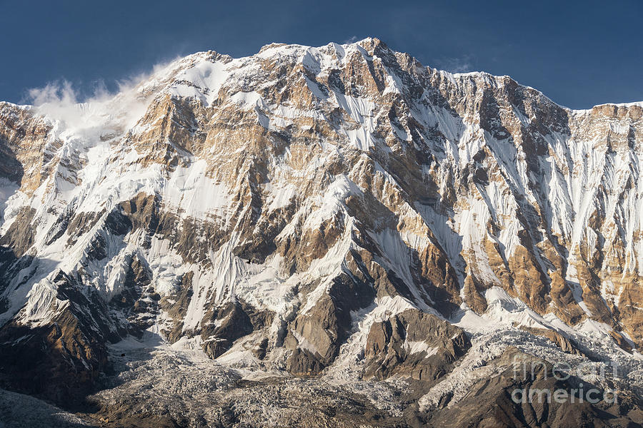 Annapurna I peak at 8091m in Nepal by Didier Marti