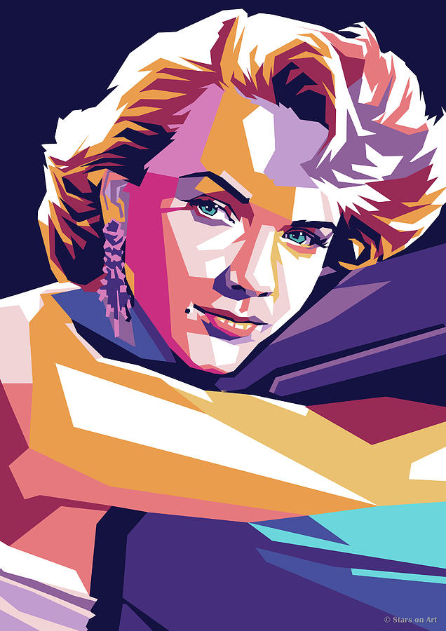 Anne Francis by Stars on Art