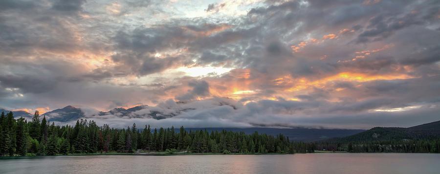 Annette Lake Sunrise by Paul Schultz