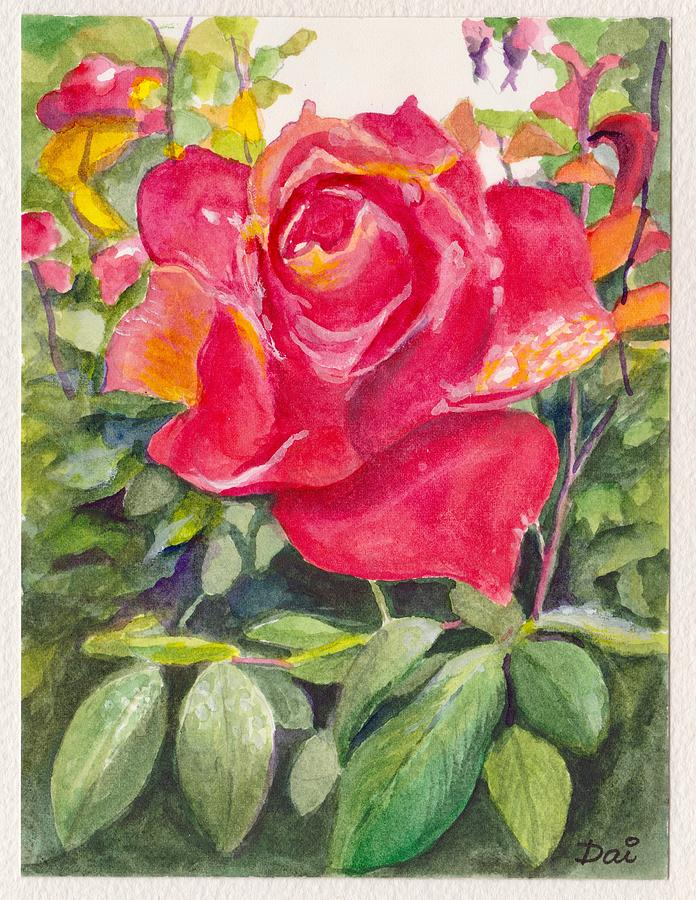 Anniversary Rose 2018 by Dai Wynn