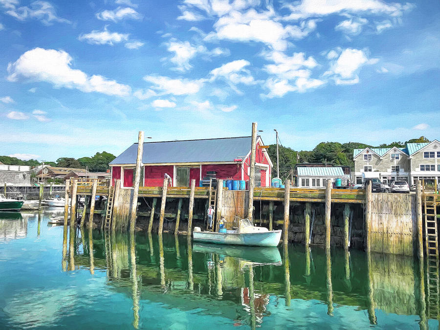 Kennebunkport Photograph - Another Day On The Water by Donna Kennedy