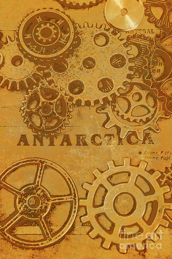 Ancient Photograph - Antarctech by Jorgo Photography - Wall Art Gallery
