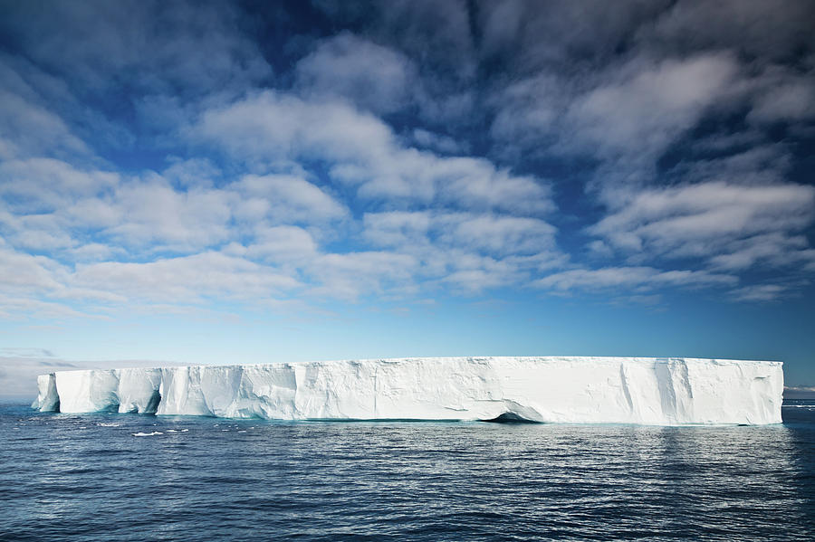 Antarctic Nature Iceberg In South Photograph by Mlenny