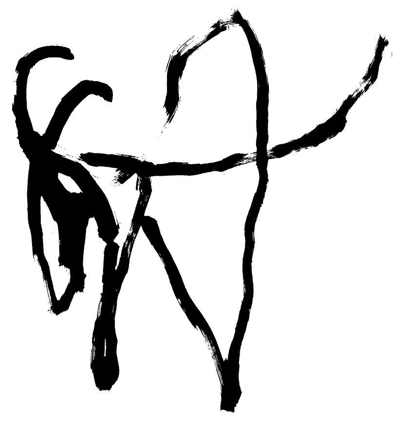 Antelope by Artist Dot
