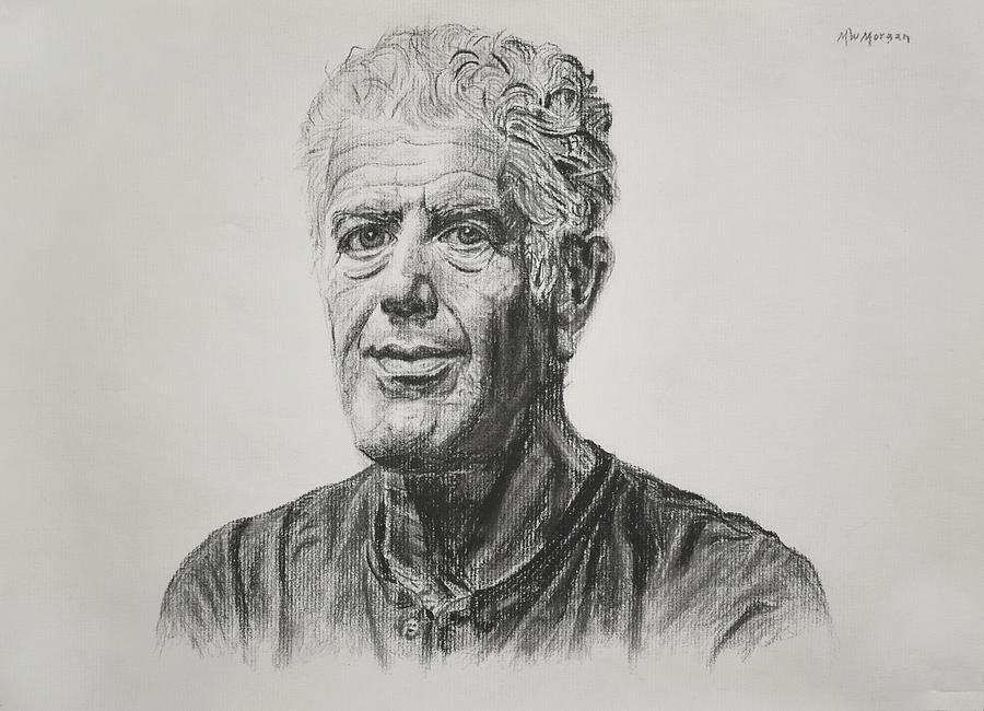 Anthony Bourdain by Michael Morgan