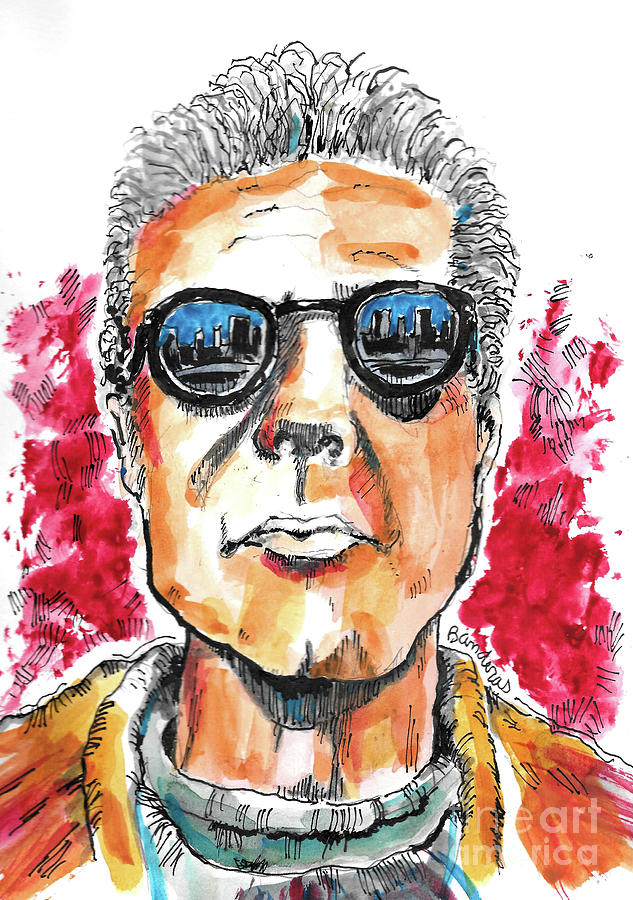 Anthony Bourdain by Terry Banderas