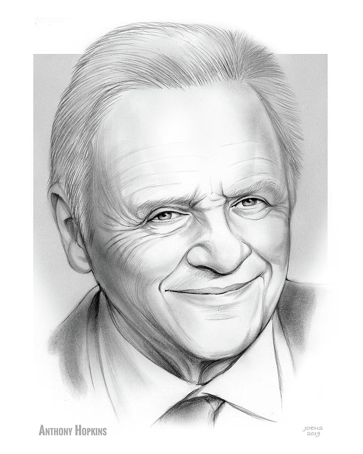 Anthony Hopkins Drawing