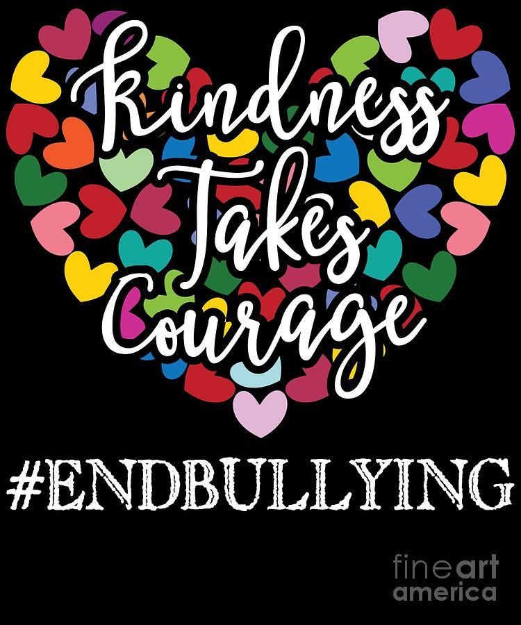 Kindness is Always Cool Anti-Bullying Kids Hoodie Hooded Sweatshirt