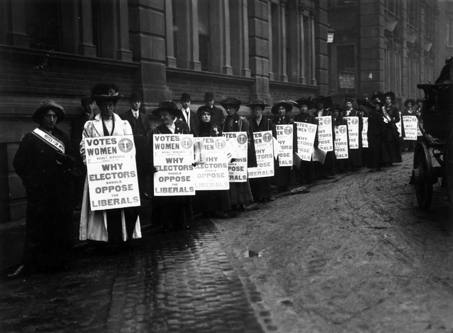 Anti-liberal Demo Photograph by Hulton Archive