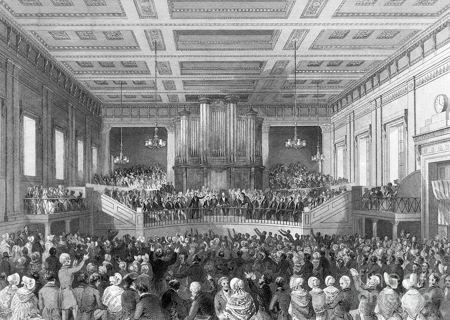 Anti-slavery Meeting At Exeter Hall Photograph by Bettmann