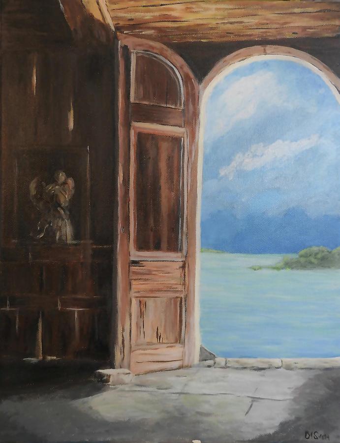 Antigua Dream Door by Deborah Smith