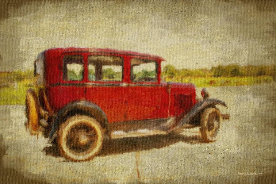 Antique Car by Diane Lindon Coy