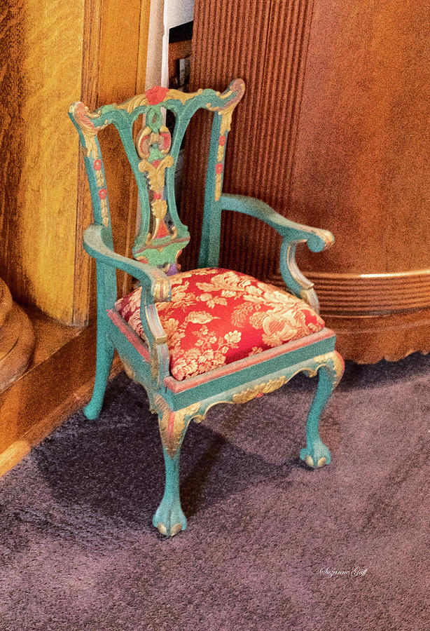 Antique Chair by Suzanne Gaff