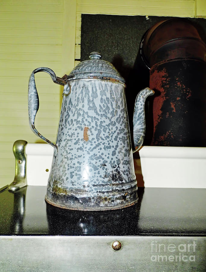 Antique Coffee Pot by D Hackett