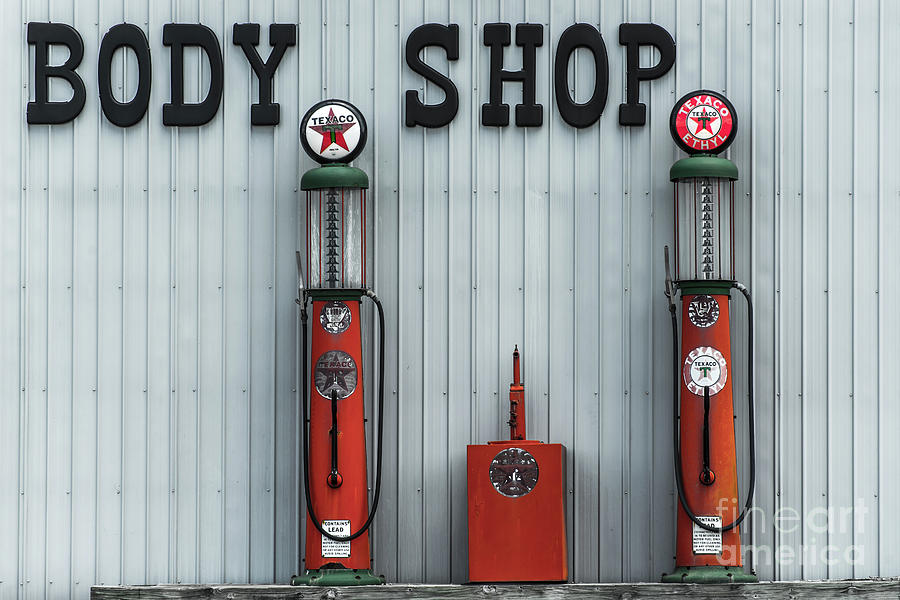 Antique Gas Station Pumps - Kentucky by Gary Whitton
