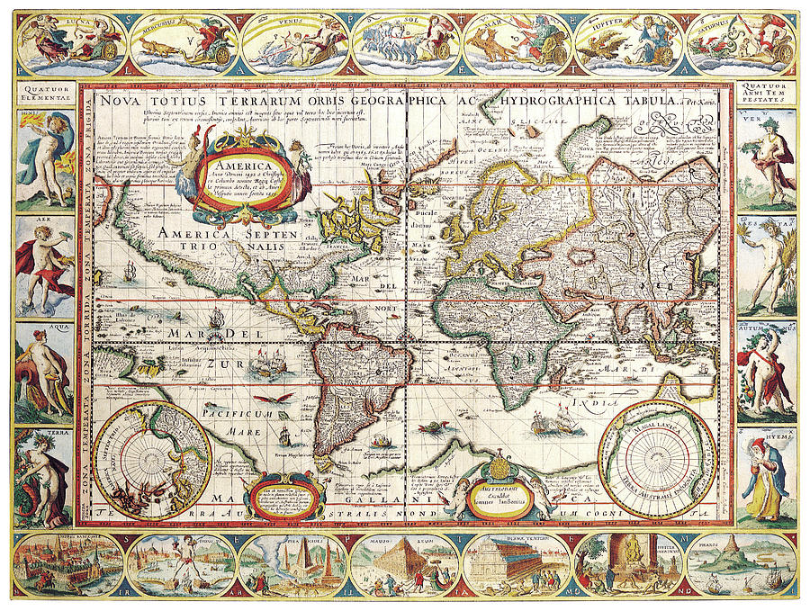 Stare geografske mape i karte - Page 7 Antique-map-of-the-world-in-latin-old-cartographic-map-antique-maps-siva-ganesh