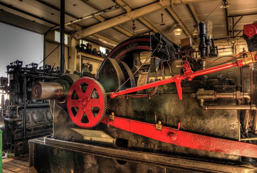 Antique Power Steam Machine by Thom Zehrfeld