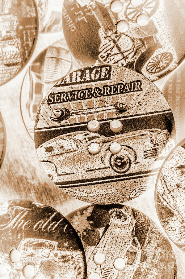 Sepia Photograph - Antique Service Industry by Jorgo Photography - Wall Art Gallery