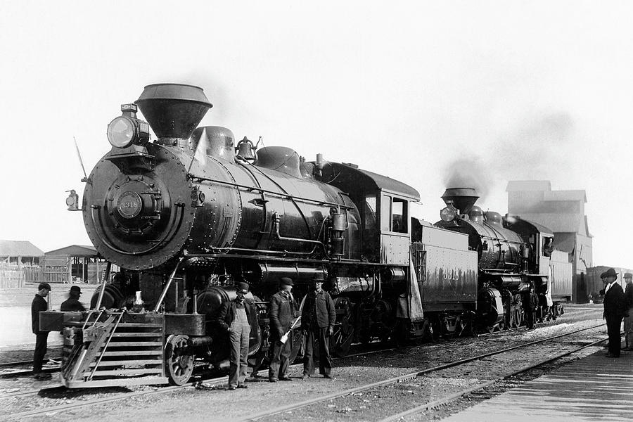 Antique Steam Engine Photograph by Jupiterimages