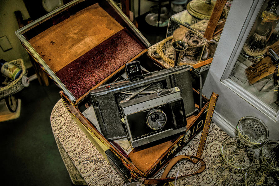 Antique Store Polaroid Camera by Floyd Snyder