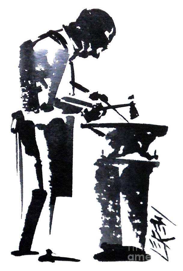 Anvil Man by Larry Lerew