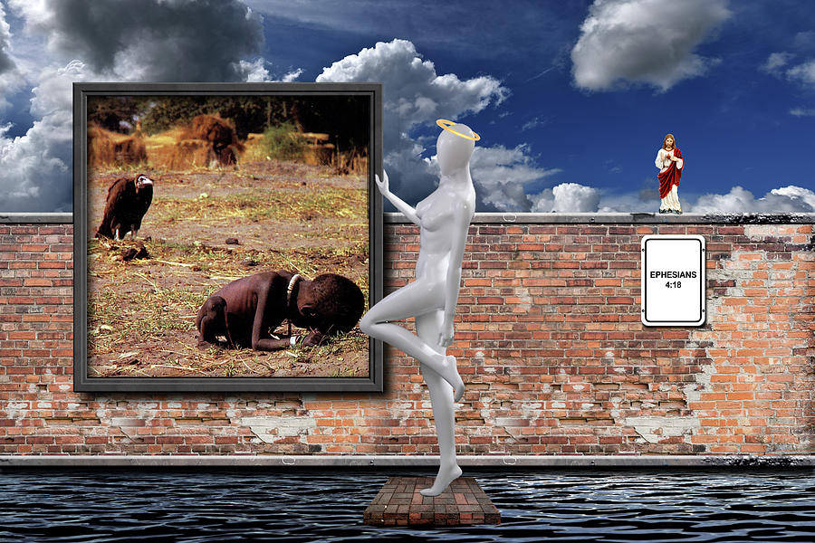 Apathy Photograph - Tribalism by David Brown