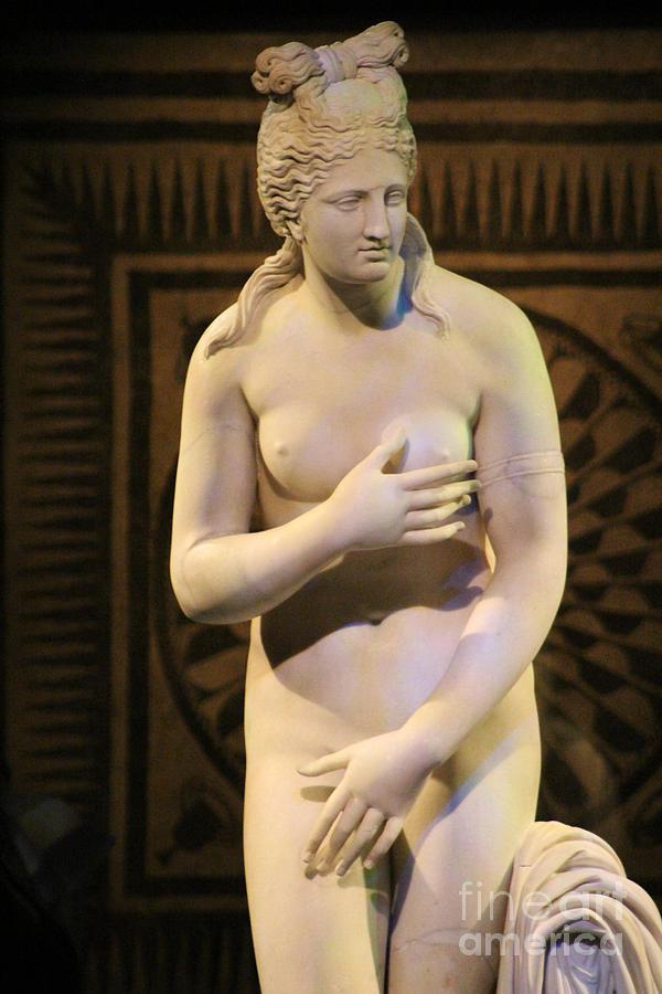 Aphrodite Marble Statue Pompeii 1 Century AD by Colleen Cornelius