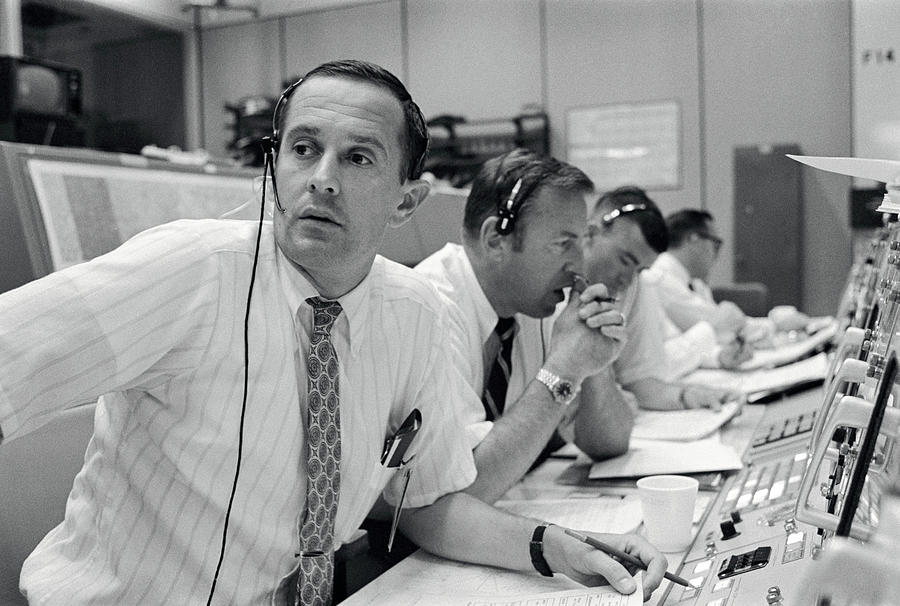 1969 Photograph - Apollo 11, Astronaut Flight by Science Source