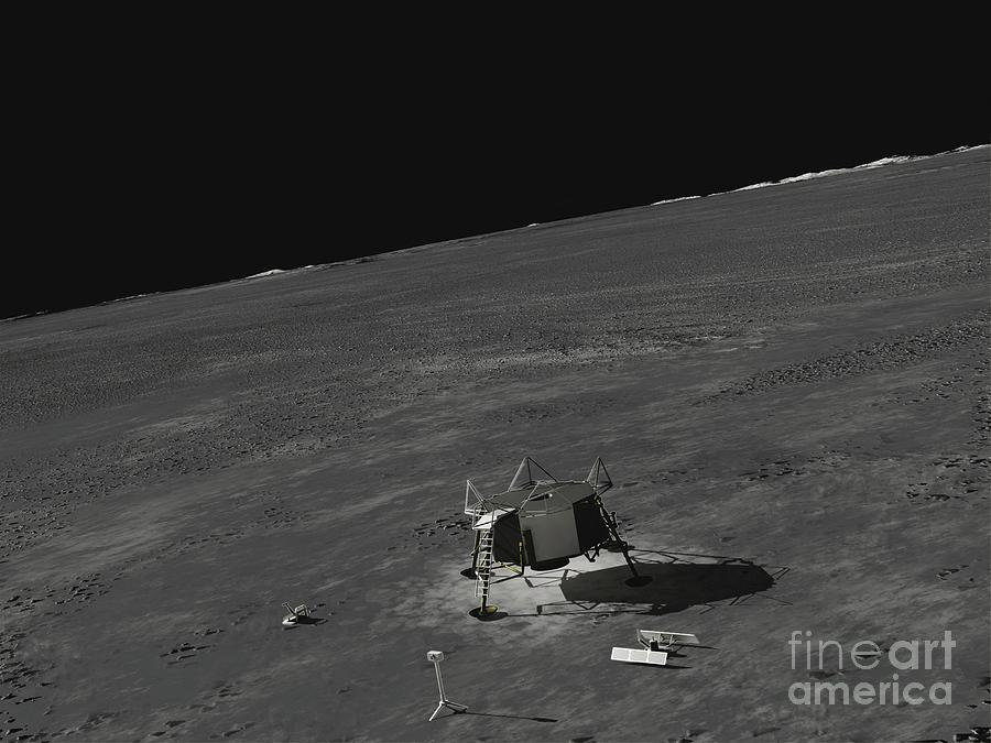 Rare Photos Reveal Fascinating Views Of The Apollo 11 Moon
