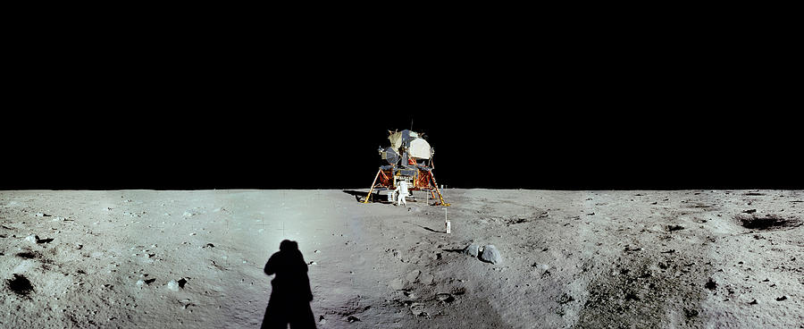 Apollo 11 Panorama of the first men by Andy Myatt