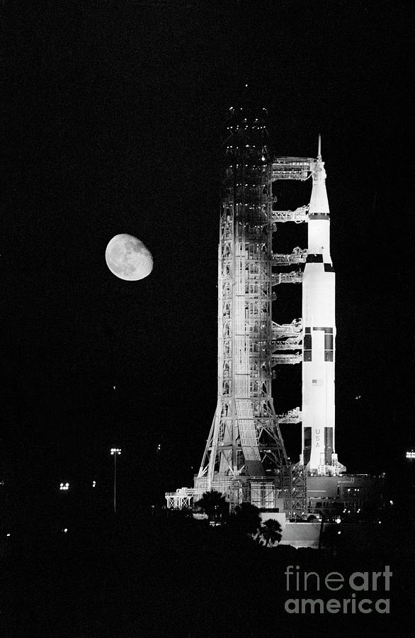 Apollo 11 Spacecraft Ready For Liftoff Photograph by Bettmann
