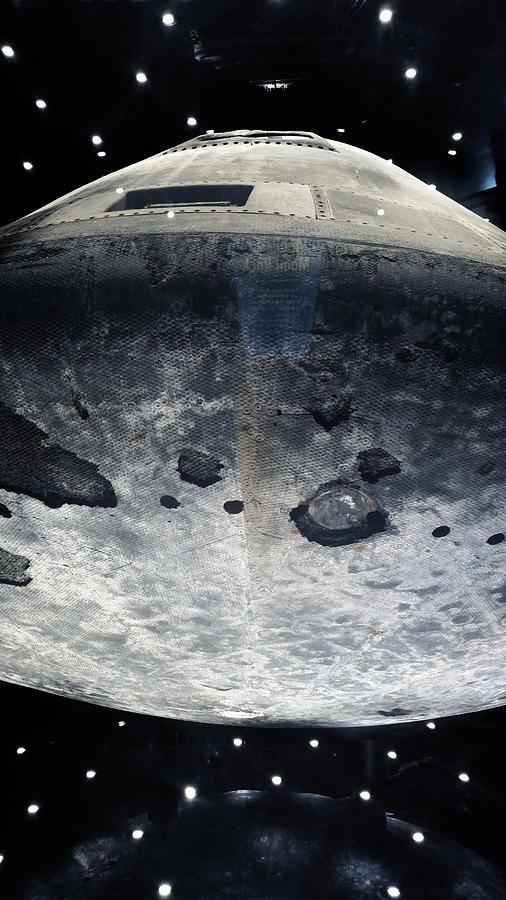 Apollo 16 Control Module Photograph