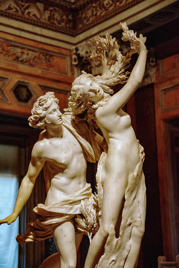 Apollo And Daphne Photograph - Apollo And Daphne by Joseph Yarbrough