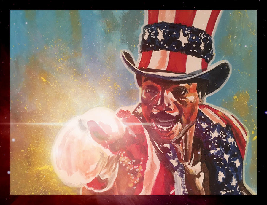 Apollo Creed  by Joel Tesch