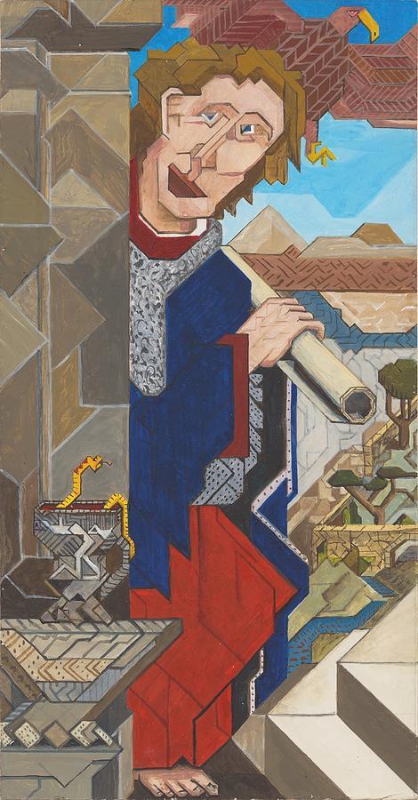 Apostle John by Willy Wiedmann