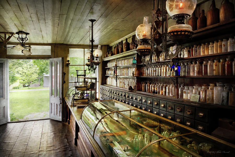 Apothecary - The compounder by Mike Savad