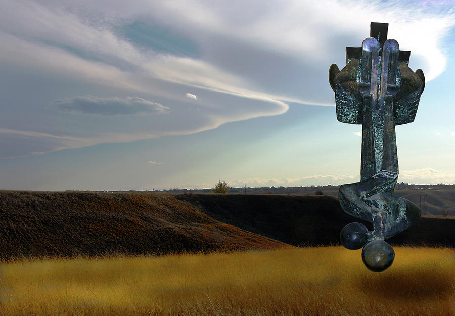 Apparition Of Etrogs Moses In The Coulees Digital Art