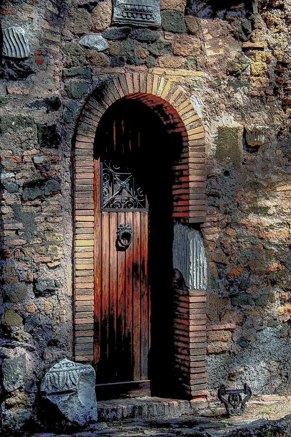 Italia Photograph - Appia Antica Porta by Joseph Yarbrough