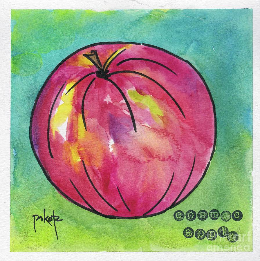Apple 3- Cosmic by Pat Katz