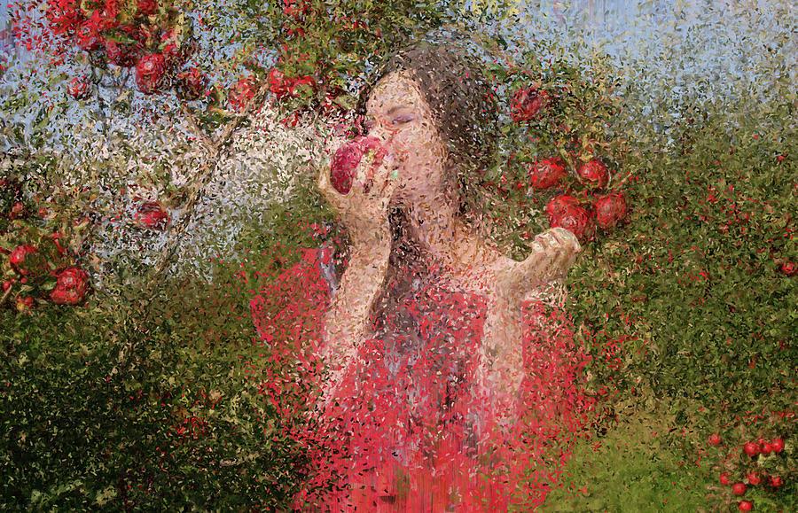Apple Garden. Harvest Time. by Alex Mir