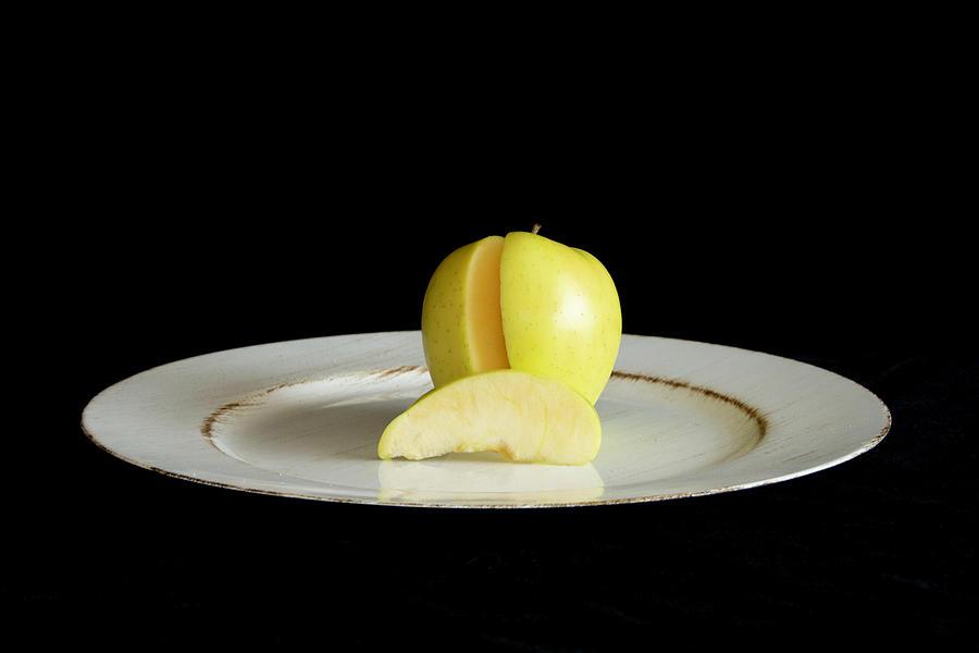 Apple Slice by Jennifer Wick