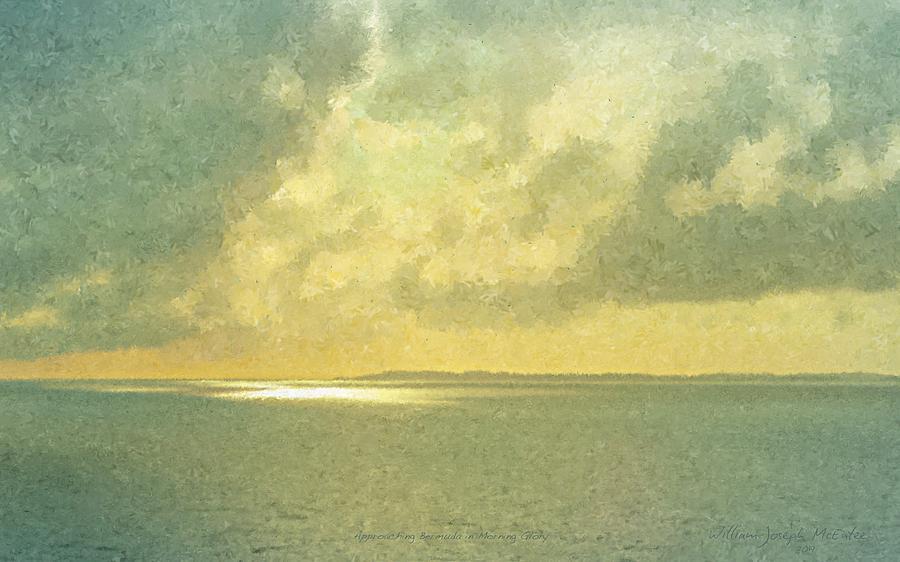 Approaching Bermuda in Morning Glory by Bill McEntee