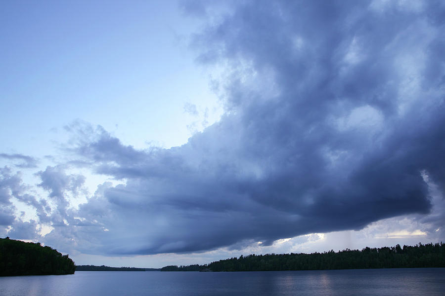 Approaching Storm In The Boundary Photograph by Georgepeters