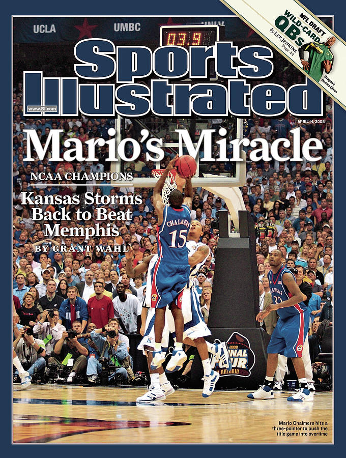 April 14, 2008 Sports Illustrate Sports Illustrated Cover Photograph by Sports Illustrated