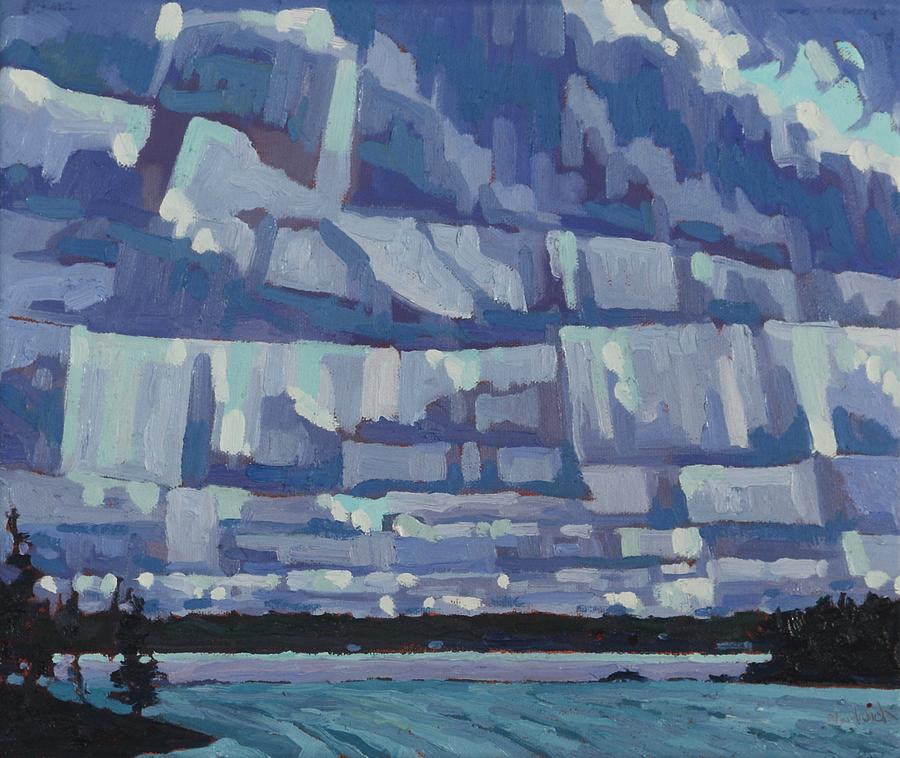 April Fools Stratocumulus by Phil Chadwick